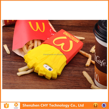 bulk buy from china McDonald's Fries silicone soft phone case cover for ipad 5