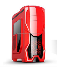 Arcylic LED red light Gaming case/full tower gaming pc case/computer tower pc gaming case