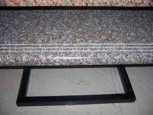 China Cheapest Red Granite Steps with Anti-slip