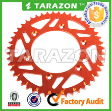 TARAZON made High Strength CNC Aluminum Sprockets for Off Road Bike