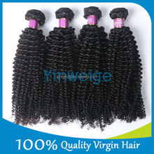 High quality processed virign hair wholesale list of hair weave