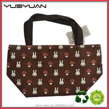 2015 Plain style outdoor camping storage bags wonderful bling bling cartoon printing fancy lady handbag hot sale