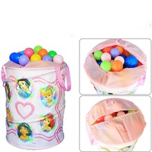 Portable storage containers colored doll toy storage
