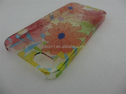 high quality colorful raindrop hard pc case,waterdrop pc case for iphone5