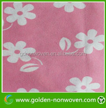 PP Printed Non woven Fabric for home wall paper