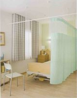 Flame-Retardant Medical Partition Curtain For Sickbed