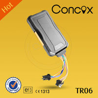Concox Direct Manufacturer TR06 Multi-functional GPS Car Tracker Built-in Antenna Tracker Real-time Quad-band and SOS