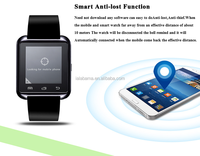 new products 2016 best selling product in alibaba android smart watch u80