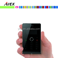 Top selling products 2015 aiek M3 mini ultra thin mobile phone card