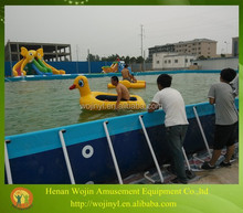 Inflatable floating water park design build for kids and adults
