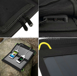 Waterproof solar bag solar mobile phone charger usb power pack