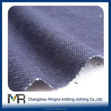 (YT0032)cotton polyester spandex knitted denim fabric