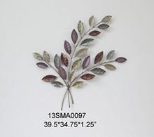 2014 HOT popular shape of reeds tree metal home decoration