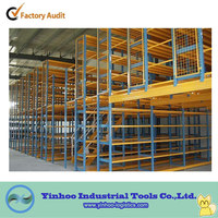 powder coating warehouse mezzanine floors rack/attic rack accept custom order