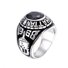 Factory supplier newest trendy style trendy round female ring wholesale KR31972