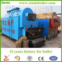 15 Years history for Boiler 6 ton large capacity Petroleum Coke fired Fire and Water Tube Automatic Steam Boiler for sale