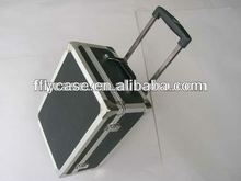 custom popular in Europe aluminum fashional trolley luggage case