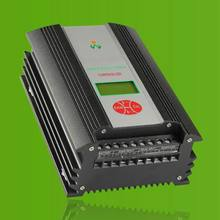 600W 48V wind solar hybrid charge street light controller LCD display with optional bluetooth function