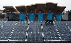 New Design! 300 watt photovoltaic solar panel for Home Roof Solar Power System 6000w Wind and Solar Hybrid Power System