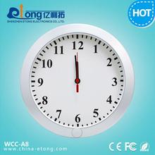 hidden cctv clock camera, hidden camera microphone, alarm clock hidden camera(WCC-A8)