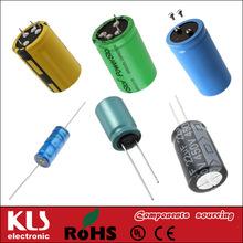 Good quality 330uf 200v aluminum electrolytic capacitor UL CE ROHS 68 KLS