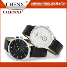 Best Selling Christmas Gifts 2016 Quartz Wrist Watches Men,Genuine Leather Watch,Leather Watch