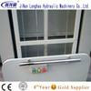 Hydraulic wheelchair lift for the disabled with easier to operate