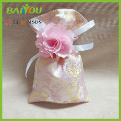 low cost sales promotion goods from china customized rose scented sachet