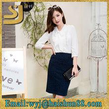 2015 Alibaba lady skirt latest lady skirt