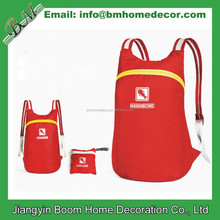 Customized Waterproof Foldable Sports Bag Backpack for Camping & Hiking
