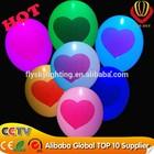2015 novo produto decoração balão colorido nightlight