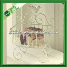 decorative iron wire basket wholesale