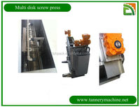 China tannery pollution sludge dewatering screw press