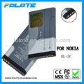 1050 mah del teléfono celular de la batería bl-5c