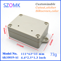 IP68 Protection Level and Junction Box Type waterproof plastic enclosure box