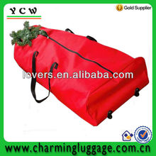 durable cheap christmas tree bag with wheels