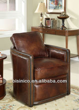 Newest design real leather sofa,classical arm chair,American style sofa (BF00-20148)