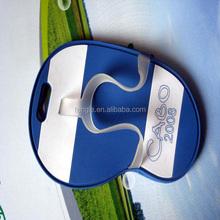custom soft pvc slipper luggage tags with fancy design