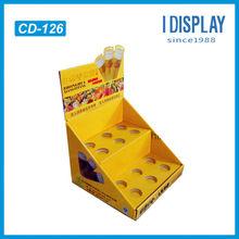 USB drive cardboard display, CDU/desktop/ table paper display for USB drive