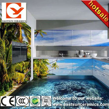 Hot sale product 3d wall and floor tile,3d wall tiles,3d tile flower pictures