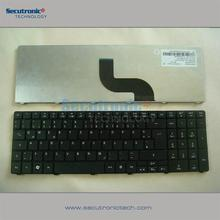 Popular model Sunrex Keyboard for ACER Aspire 5800 5810 5810T 5739 5745 5820 7535 7735 7745 German black matte