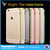 2015 hottest Selling Aluminum diamond bumper for iPhone 6 plus , for iPhone6 gold bumper wholesalers china
