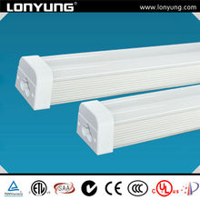 2013 hot sales low color shift t-5 bulb led integrated double tube lighting factory price