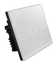 Hidin Iphone/ Android mobile phone control WIFI light switch, touch wall switch for home automation