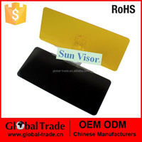 Car Black Sun Visor.Universal Auto Car Flip Down Shield Sun Visor . A1302.