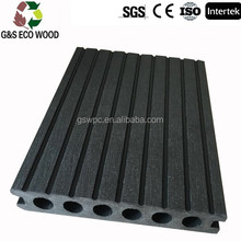 Manufactory Price! Various size latest co-extrusion technology WPC decking/ Wood plastic composite flooring/ exporter WPC Boards