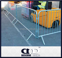 Canada Galvanized Used Temporary Removable picket fence