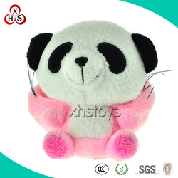 Customed Oem Soft Stuffed High Quality Peluche Giant Panda For Baby Gift