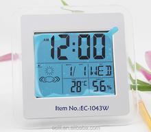 LCD weather forecast digital clock