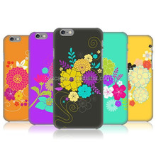 Phone Case Flower Printing Hard Back Cover Case Cheap Mobile Phone Case For Iphone 6